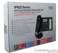 IP652 Cutting-Edge Multiple Functional PoE VPN voip phone