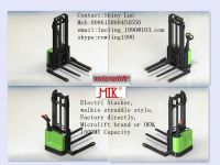 Straddle Electric stacker factory, microlift or OEM brand, 1.5MT Capacity, ES15S Model