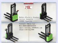 Walkie Electric Stacker factory, Microlift brand or OEM, 1500KG Capacity