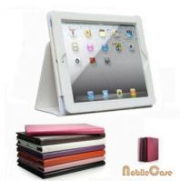 For Ipad air  leather case with stand /wake up/ smart cover case for new ipad 5