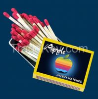 APPLE CARDBOARD MATCHES