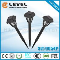 High Quality Low Price Plastic Outdoor Solar Light