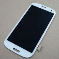 Original LCD screen with digitizer assembly for Samsung S3(i9300), S4(i9505) LCD screen .