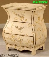 Hand Paint Bed Cabinet