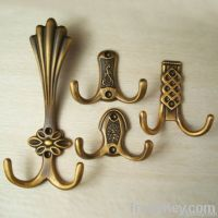 Antique copper hook rural clothes creative household coat hook
