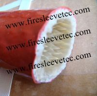BSTFLEX silicone Rubber Coated Fiberglass Braided Fire Sleeve