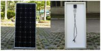 2018 100W Monocrystalline Solar Panel for 12V Battery RV Boat