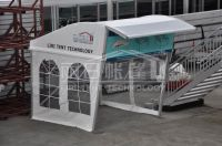latest special design half dome tent for trade show/ party/ coffee shop