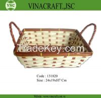 Vietnam cheap bamboo basket