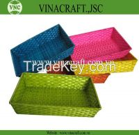 Cheap bamboo basket from Vietnam manufacturer