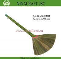 Vietnam grass broom with long handle