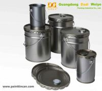 China Metal Steel Pails Wholesaler