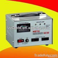Servo Motor Control Automatic Voltage Regulator with meter display