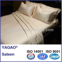 300TC 100%cotton bedding set for hotel linen