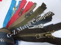 Metal - Brass Zipper