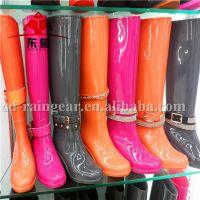 PVC lady rain boots