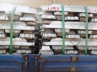 99.7% al ingot factory sale with high pure(85%-99.7)al 6063