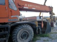 Used Crane KR-25H, Used 25ton Rough Terrain Crane Kato KR-25H Japan Original, Used Kato 25ton Crane KR-25H Good