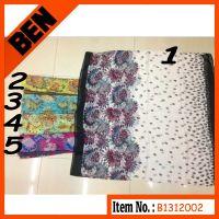 fashion spring printing polyester scarf-B1312002