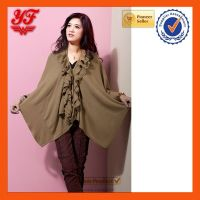 2014 winter warm acrylic shawls wholesale