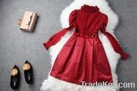 Girls dresses red