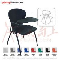 lightweight steel stack chair with rotary tablet elegent lecture chair
