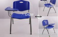 stacking tablet arm chair with writing tablet student chair