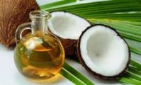 Refined coconut oil,