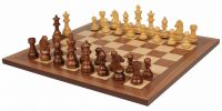 King's Bridle Wood Chess Set