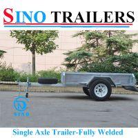 6*4 Australian Fully Welded Single Axle Box Trailer
