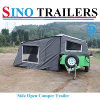 Australian Economic Family Soft Floor Travel Trailer with Tent