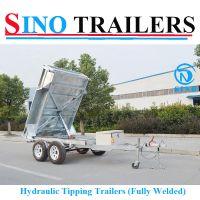 3t Hydraulic Tipping Tandem Box Trailer