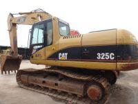 used caterpillar 325C crawler excavator