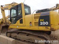 Used crawler excavator Komatsu Pc200-8