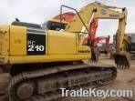Used Komatsu Pc210Lc-7 Excavator