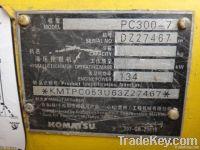Used Komatsu Pc300-7 Excavatorused