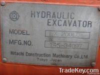 Used Excavator Hitachi Ex200-Lc