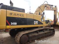Used Caterpillar 345D Crawler excavator