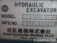Second Hand Hitachi Ex300-3c Excavator