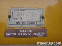 Used Motor Grader Cat12G