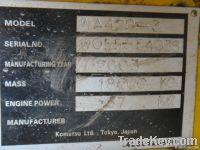 Used Komatsu Wheel Loader Wa-420