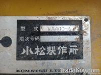 used Komatsu WA400 wheel  Loader