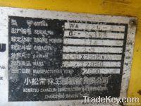 used Komatsu Wa 320-3 Loader