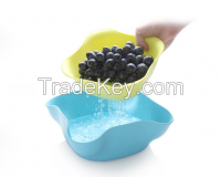 High-end Plastic Double Fruit Dish