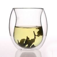 graceful glass drinking cup