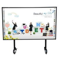 """School equipment IR multitouch touch screen 82"""" interactive whiteboard"""