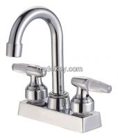 Double handle  Kitchen Faucet Sanitary Iterms JY80208