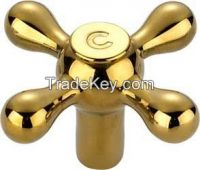 New style gold-plated faucet handle