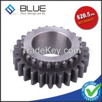 Large diameter spur gear with heat treatment at competitive price