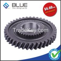Double helical gear with grinded process for tractor